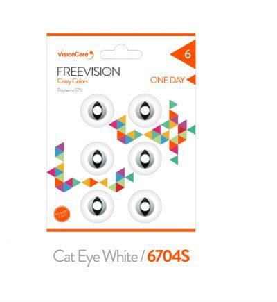 Occhi di Gatto Bianco