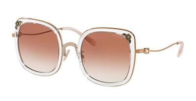 Occhiale-da-sole-COACH-7101B-933113-shiny-gold-rose-trasparent-gold-pink-lenti-pink-gradient-trasmittanza-30-sinistro-Ottica-Centro-Russi-Ra