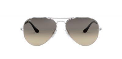 Occhiale da sole Aviator 3025 003/32 black lenti greygradient