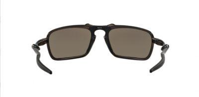 Oakley badman 6020 06 dark carbon lenti prizm daily polarized Sedizione gratis Ottica Centro Russi Ra