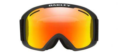 Oakley 7045 45 Snow google O Frame 2.0 XL Matte Black Lenti Fire Iridium & Persimmon