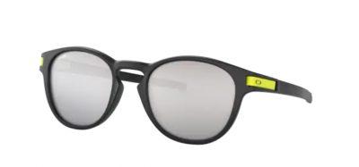Oakley Latch 9265 21 VR46 Matte black lenti chrome iridium Ottica Centro Russi Ra