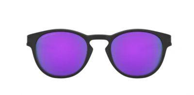 Oakley Latch 9265 55 Matte Black Lenti Prizm violet Ottica Centro Russi Ravenna