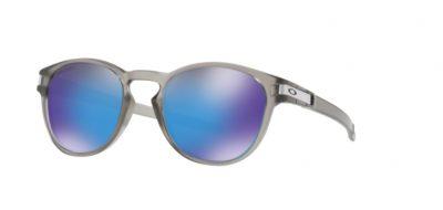 Occhiali-da-sole-Oakley-9265-32-Latch-Matte-Grey-Ink-lenti-Prizm-Sapphire-Polarized-trasmittanza-lenti-12-sinistro-Ottica-Centro-Russi-Ravenna-