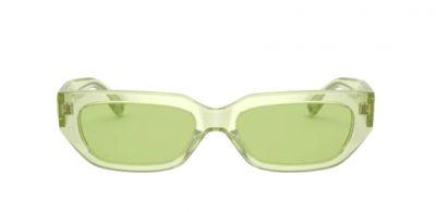 Occhiale da sole Valentino 4080 5165/2 green fluo Lenti green ottica centro Russi Ravenna
