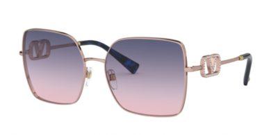 Occhiale-da-sole-Valentino-2041-3004I6-rose-gold-lenti-gradient-pink-blue-Trasmittanza-234-thumb-Ottica-Centro-Russi-Ravenna