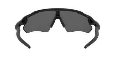 Occhiale da sole Oakley Radar Ev Path 9208 52 Polished black lenti Prizm Black Iridium