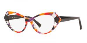 Il modello Alain Mikli 3108 008 Isabeau è in acetato multicolors e dalla forma cat eye
