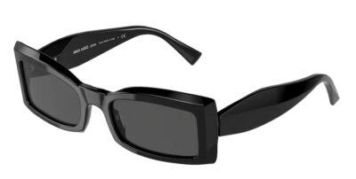 Il modello Alain Mikli Bernelle 5063 005 87 montatura nera e lenti grey, è esclusivo per la sua forma a farfalla e per l' ottima calzata sul naso.